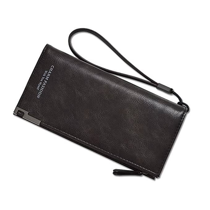 7246a19c173b YEX Women Wallets PU Leather Clutch Purse Wristlet Bifold Long ...