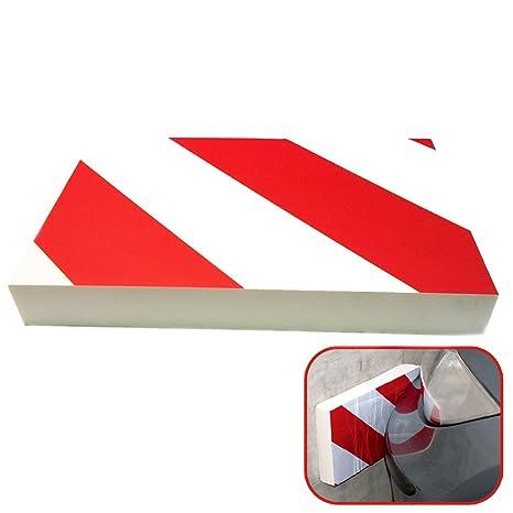MovilCom® Protector parking coche | Paragolpes de garaje espuma autoadhesiva | Protector columnas parking y