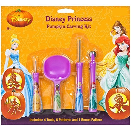 Disney Princess Pumpkin Carving Kit by Disney]()