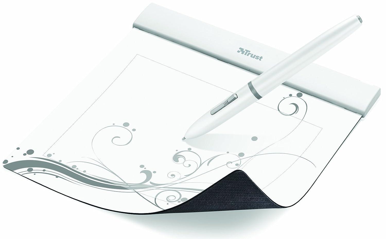 Tablette graphique et Stylets TRUST FLEX DESIGN 16937 BLANC