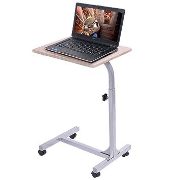 goplus laptoptisch höhenverstellbar rolltisch betttisch ... - Rolltisch Küche
