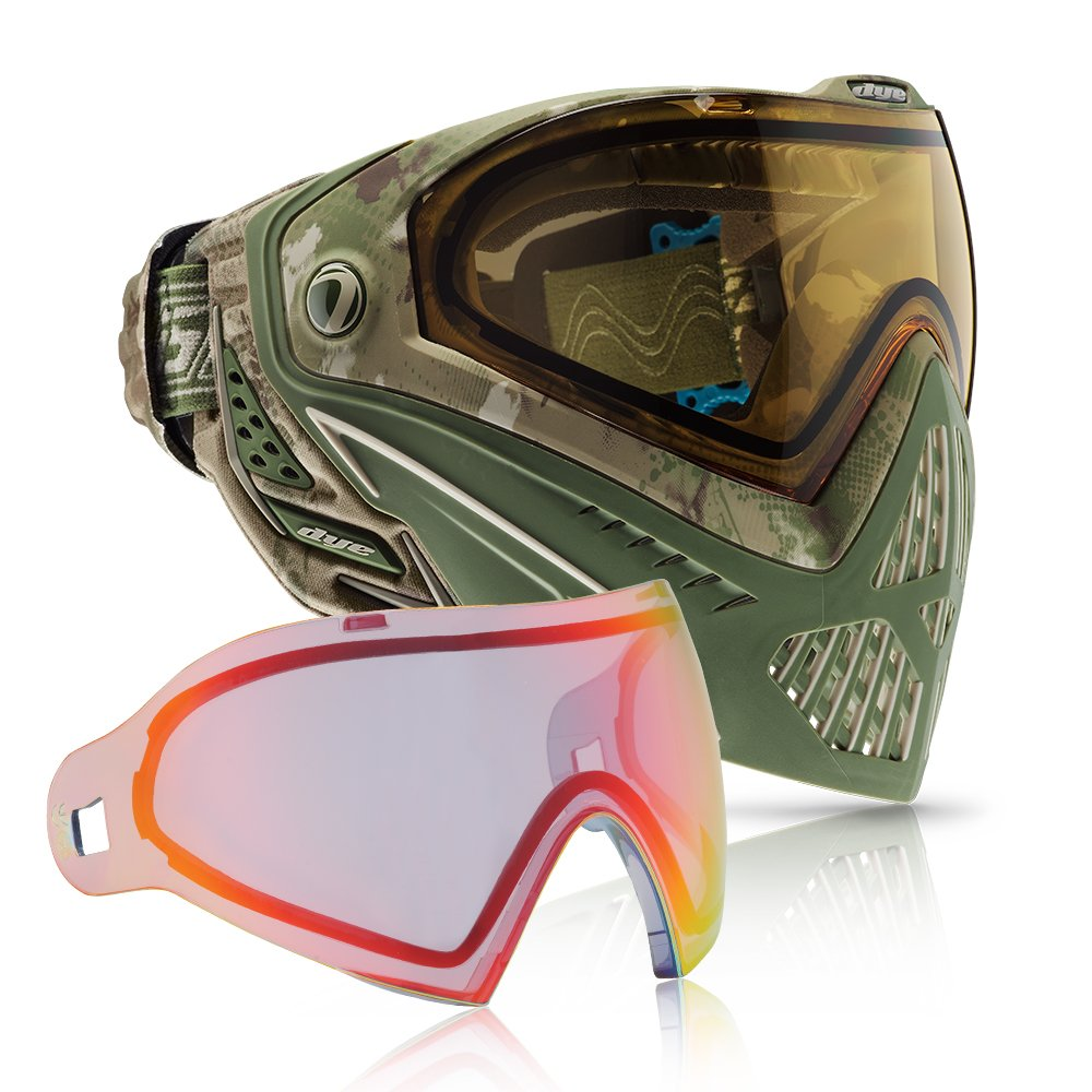 Dye i5 Paintball Goggle (DyeCam with Bronze Fire Thermal Lens Combo) by Dye