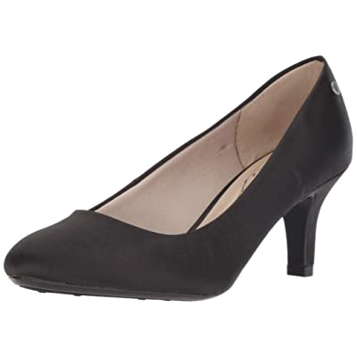LifeStride Parigi Black Satin Exclusive 9 | Pumps