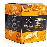 Horley Té Jengibre con Cúrcuma y Canela, 15 g