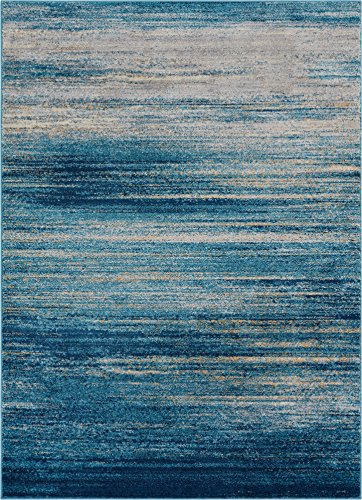 Well Woven Layla Stripes Blue Tribal Area Rug 8x11 (7'10