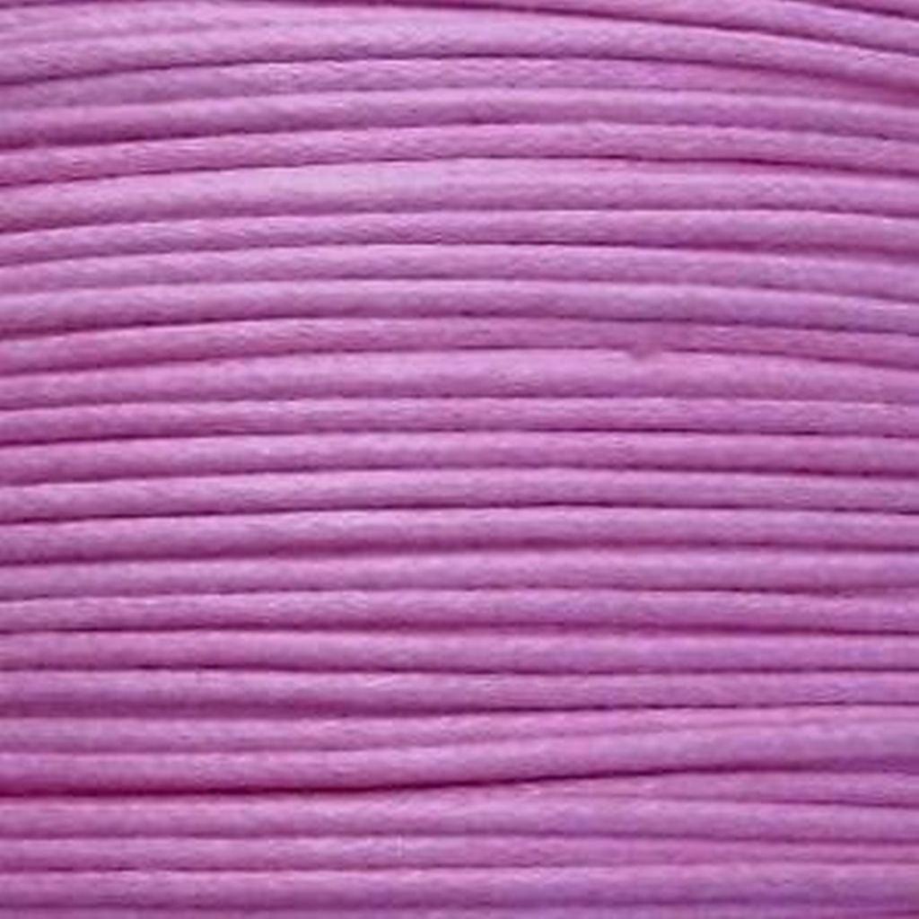 K2-Accessories 30m 1mm gewachstes Baumwollband–Lila Violett–c0599/3Pakete