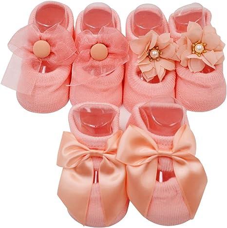 Bebé niñas socks Lovely Floral princesa encaje interior Suelo ...