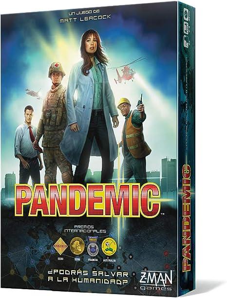 Z-man Games España Pandemic-¡El Destino de la Humanidad está en vuestras Manos, Multicolor (ZM7101ES): Amazon.es: Juguetes y juegos