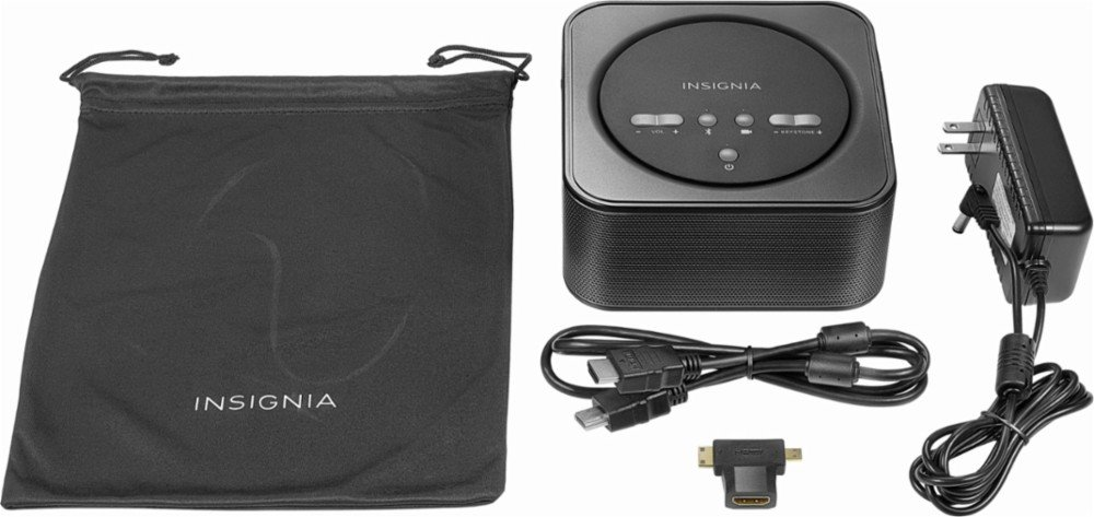 Insignia Reverb Premium Audio Pico Projector NS-PR200: Amazon.es ...