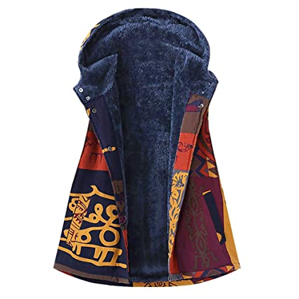 Mujer abrigo Invierno,Sonnena ❄ abrigo para mujer peludo Caliente ropa casual Al aire libre