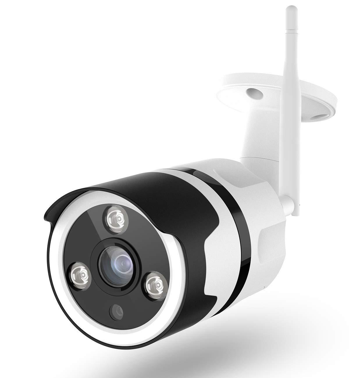 Outdoor Security Camera, 1080P Surveillance Cameras Outdoor WiFi Camera Two-Way Audio, IP66 Waterproof, Night Vision, Motion Detection, Cloud Storage 24s Smart-Clip, Security Camera Alexa Compatible by NETVUE
