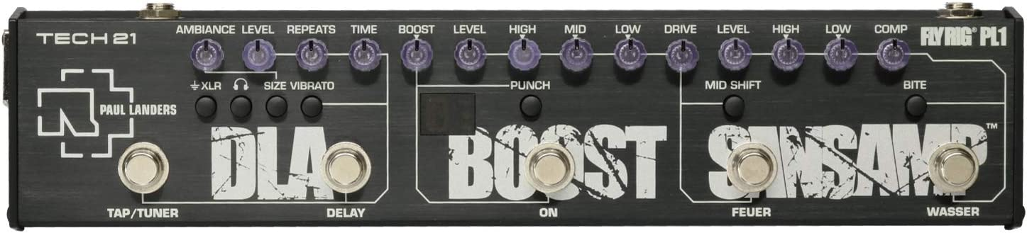 Tech 21 Paul Landers PL1 Signature Fly Rig Multi-Effects Pedal