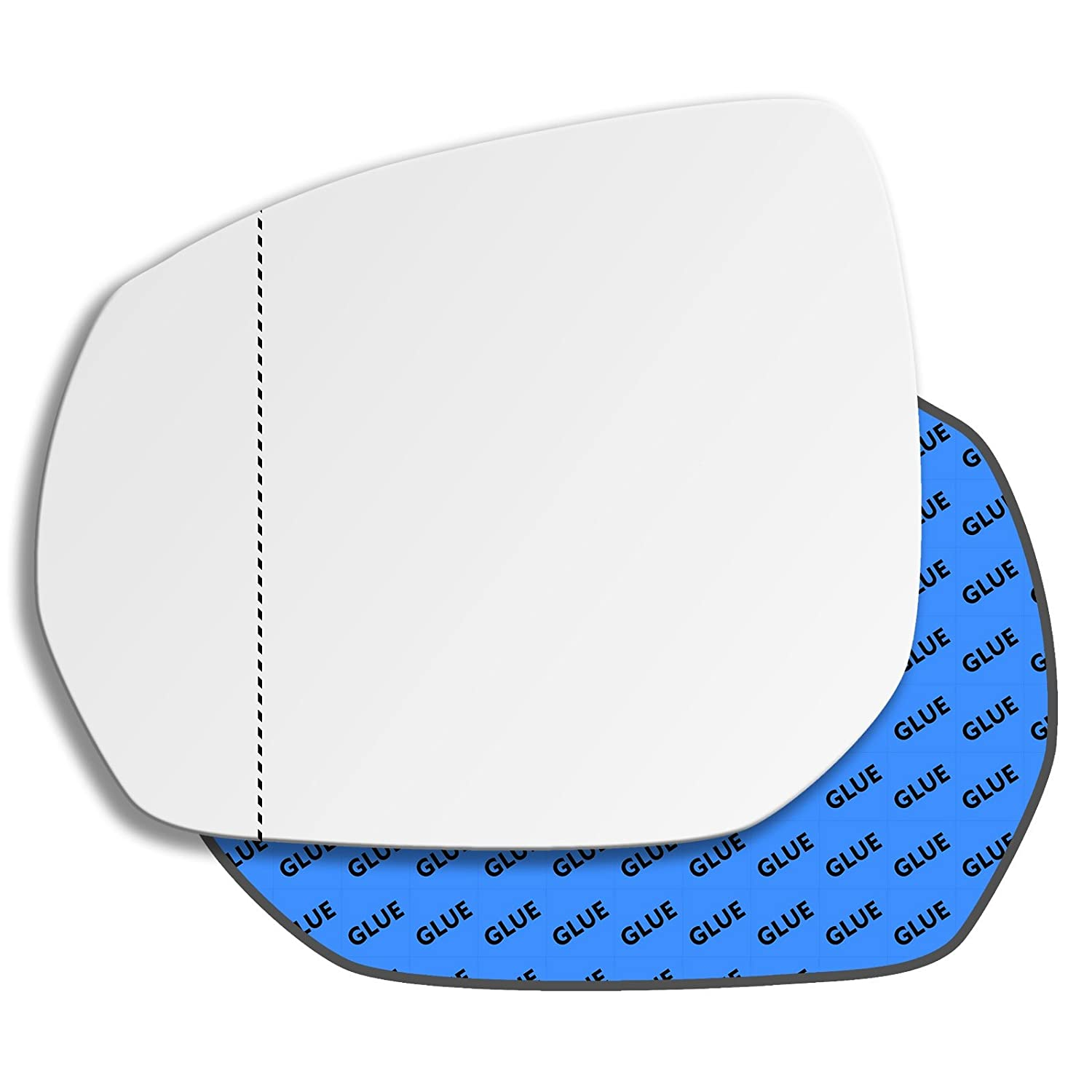 Hightecpl 302LAS Left Hand Passenger Near Side Wide Angle Door Wing Mirror Glass Replacement Channel Autoparts Limited
