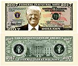 Set of 5 - Donald Trump 2017 Federal Inaugural Presidential Dollar Bill Limited Edition