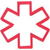 "Star Of Life Plast-Clusive Cookie Cutter 3.5"" PC0200"