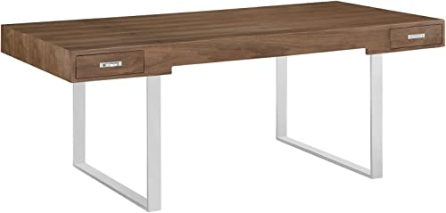 Deal of the week: Modway Tinker Contemporary Modern Wood and Stainless Steel Office Desk
