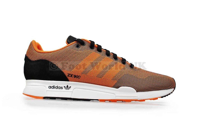 e4a27743a ... Adidas Mens - ZX 900 Weave light weight running - Black Orange - UK 6.5  Amazon ...