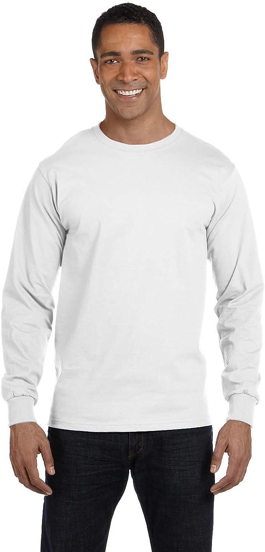 G8400 Pack10 Gildan Men/'s Ultra Blend Moisture-Wicking Long-Sleeve T-Shirt