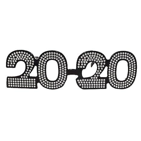 Amosfun - Gafas de Sol para Fiesta 2020 con Texto en inglés ...