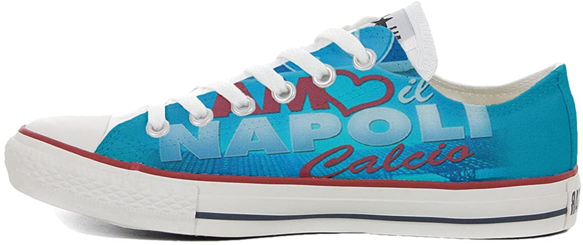 Sneakers Original Shoes Original Handmade Shoes Customized with Printed Italian Style Slim Italy Style