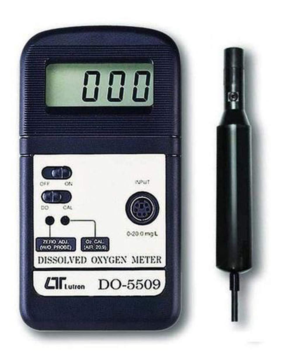 Lutron Do 5509 Messgerät Für Gelösten Sauerstoff Bereich 0 Bis 20 Mg L Zusammen Mit Dem Kalibrierungszertifikat Von Instrukart Gewerbe Industrie Wissenschaft