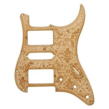 BQLZR arce HSH golpeador arañazos placa para guitarra eléctrica partes: Amazon.es: Instrumentos musicales