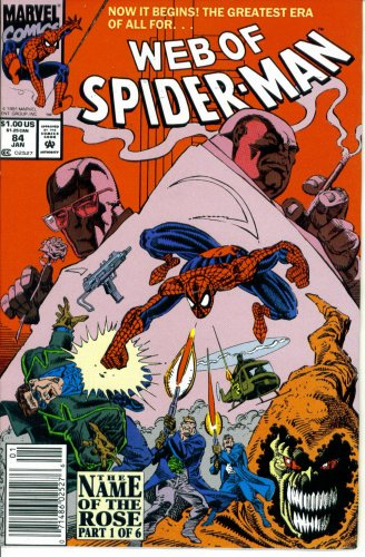 Web of Spider-Man #84 : Family Ties (The Name of the Rose - Marvel Comics) -