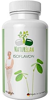 Isoflavonas de soja (capsulas) - síntomas de la menopausia - Menopausia - Bochornos - Cambios de humor - Sudor - 90…