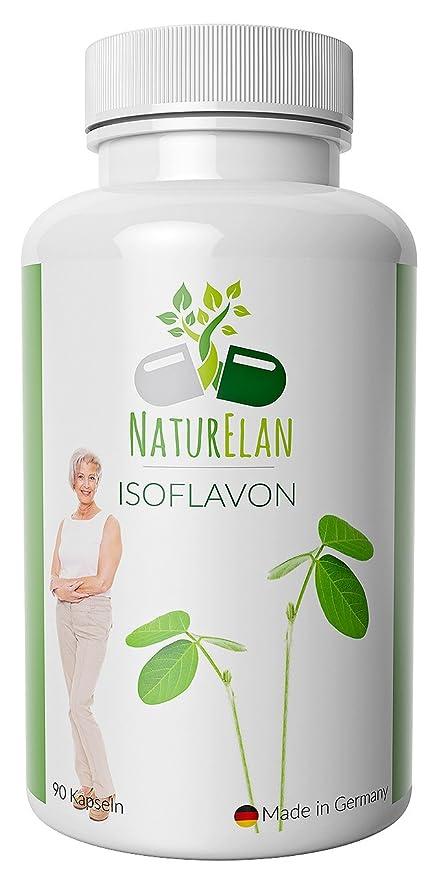 Isoflavonas de soja (capsulas) - síntomas de la menopausia - Menopausia - Bochornos -