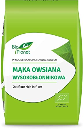 Harina de avena BIO 1 kg - BIO PLANET: Amazon.es ...