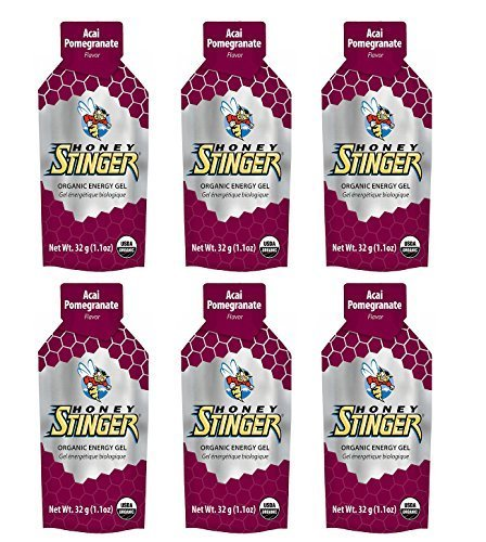 Honey Stinger Organic Energy Gel - Acai & Pomegranate (6 x 1.1oz Packs) by Honey Stinger