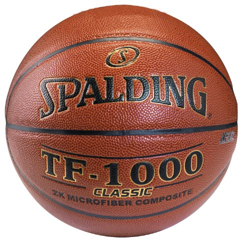 Spalding TF-1000 Classic Indoor Basketball - Official Size 7 (29.5