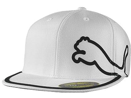 f2050315437 Amazon.com   Puma Youth Monoline Flat Brim Cap   Golf Caps   Sports ...