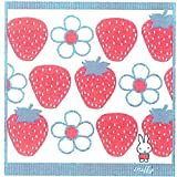 Nishikawa Living Ltd. Miffy wash towel miffy with Strawberry 2284-24776 from Japan