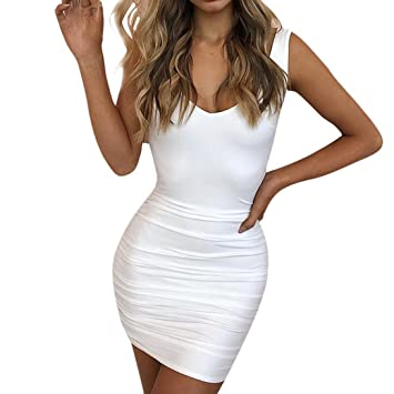 Sexy vestidos para mujer corto vestido de fiesta noche Club vestido sin espalda mini vestido,