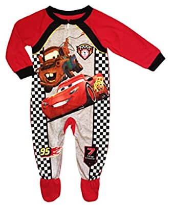 ade41d295 Amazon.com  Disney Cars Little Boys Lightning McQuuen Mater Soft ...