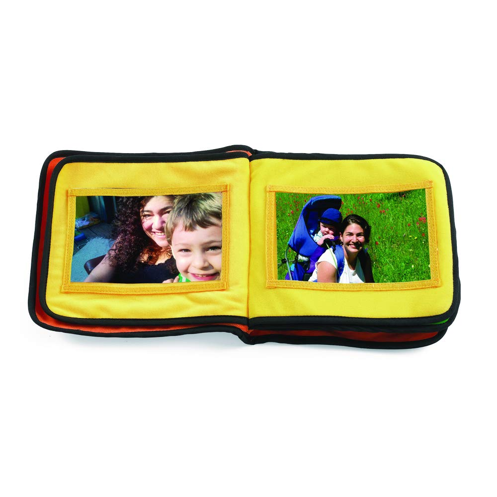 Excellerations Fabric Photo Album 13 Pockets for Kids and Families