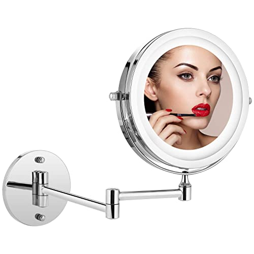 Wall Mount Makeup Mirror Lighted