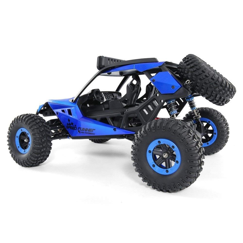 TBFEI 1/12 All Fields Drift RC Racing Car RTR Toy Christmas Birthday Dream Gift for Children and Adults-38.52318cm 4WD 45Km/k High Speed RC Violent Off-Road Racing (Color : Blue) by TBFEI (Image #4)