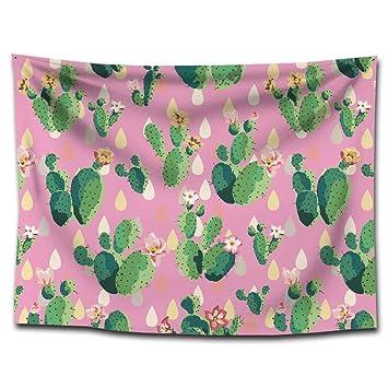 YHUJH Tapiz de Cactus tapicería Mantas Toallas de Playa Estampados para el hogar Pintura paño Decorativo (Color : G0042 (3), Size : 150 * 130cm): Amazon.es: ...