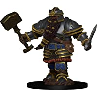 D&D: Icons of the Realms - Premium Figures - Dwarf Male Fighter, Galápagos Jogos, White