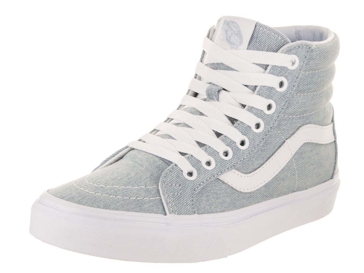Vans Unisex Sk8-Hi Reissue (Denim) Baby Blue Skate Shoe 5 Men US/6.5 Women US by Vans