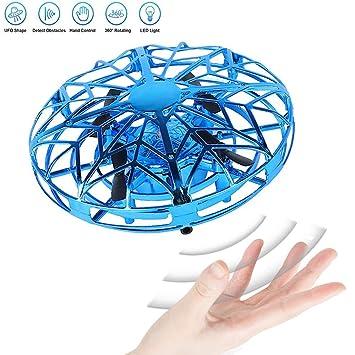 JCT Mini Drone UFO Flying Ball para Niños de 4-10 Nños Juguetes ...