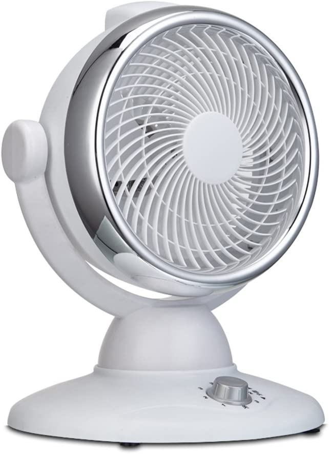 Xiao Jian Office Desktop Fan Air Circulation Fan Electric Fan Floor Fan Shaking His Head Convection Fan Standing Multi-Dimensional Fan Spiral Vortex Fast Cycle 30W Electric Fan