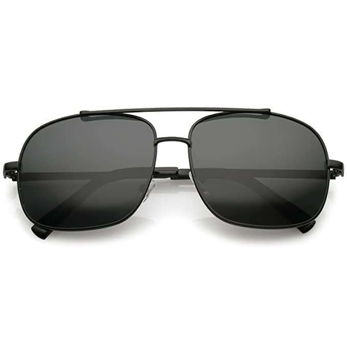Amazon.com: sunglassla – Classic Square metal Aviator ...
