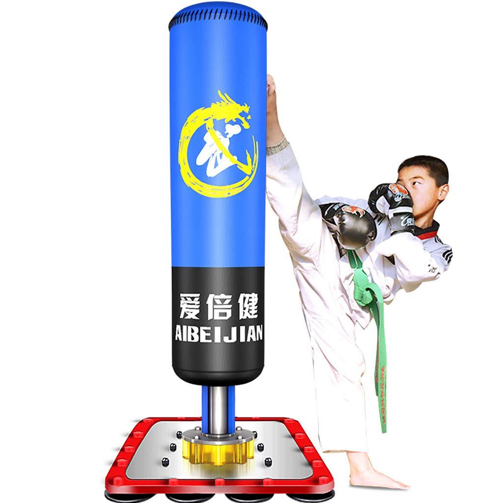 Tumbler Column Sandbag, Free Standing Boxing Punch Bag Kick Heavy Duty MMA UFC Martial Art Training by JWD - Boxing sandbag