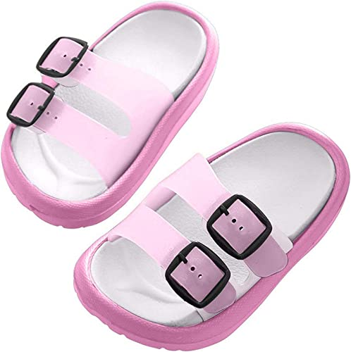 Toddler Little Kids Unicorn Shower Pool Slide Sandals Non-Slip Summer Slippers Lightweight Beach Pool Water Shoes for Girls and Boys Toddler//Little Kids