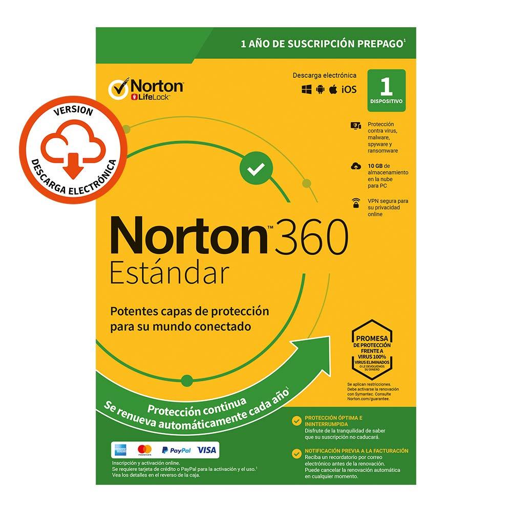 Norton 360 Standard 2020 | 1 Dispositivo | 1 Usuario | 1 Año ...