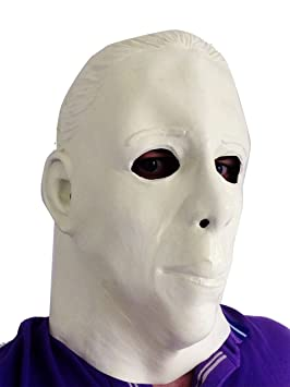 Michael Myers Brilla en la oscuridad Látex Máscara Halloween Terror Película