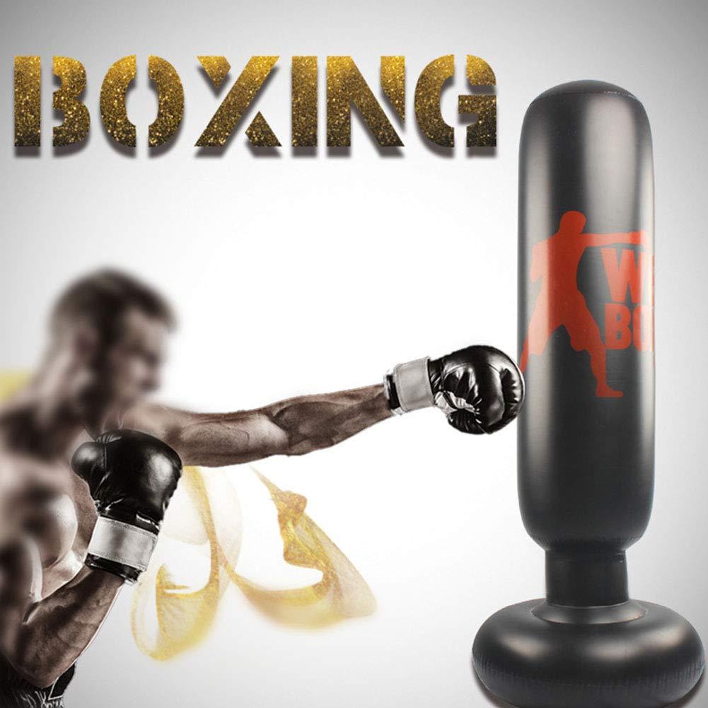 ROKF - Saco de Boxeo Hinchable con Soporte, Ideal para ...
